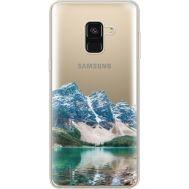 Силиконовый чехол BoxFace Samsung A530 Galaxy A8 (2018) Blue Mountain (35014-cc68)