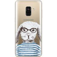 Силиконовый чехол BoxFace Samsung A530 Galaxy A8 (2018) MR. Rabbit (35014-cc71)