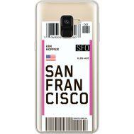 Силиконовый чехол BoxFace Samsung A530 Galaxy A8 (2018) (35014-cc79)