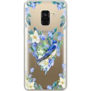 Силиконовый чехол BoxFace Samsung A530 Galaxy A8 (2018) Spring Bird (35014-cc96)