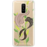 Силиконовый чехол BoxFace Samsung A605 Galaxy A6 Plus 2018 Cute Mermaid (35017-cc62)