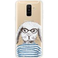 Силиконовый чехол BoxFace Samsung A605 Galaxy A6 Plus 2018 MR. Rabbit (35017-cc71)