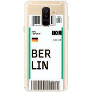 Силиконовый чехол BoxFace Samsung A605 Galaxy A6 Plus 2018 Ticket Berrlin (35017-cc80)