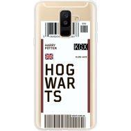 Силиконовый чехол BoxFace Samsung A605 Galaxy A6 Plus 2018 Ticket Hogwarts (35017-cc91)