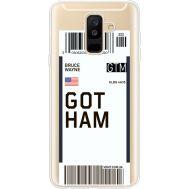 Силиконовый чехол BoxFace Samsung A605 Galaxy A6 Plus 2018 Ticket Gotham (35017-cc92)