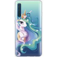 Силиконовый чехол BoxFace Samsung A920 Galaxy A9 2018 Unicorn Queen (935646-rs3)