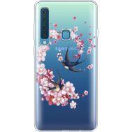 Силиконовый чехол BoxFace Samsung A920 Galaxy A9 2018 Swallows and Bloom (935646-rs4)