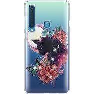 Силиконовый чехол BoxFace Samsung A920 Galaxy A9 2018 Cat in Flowers (935646-rs10)