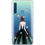Силиконовый чехол BoxFace Samsung A920 Galaxy A9 2018 Girl in the green dress (935646-rs13)