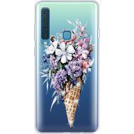Силиконовый чехол BoxFace Samsung A920 Galaxy A9 2018 Ice Cream Flowers (935646-rs17)