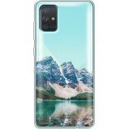 Силиконовый чехол BoxFace Samsung A715 Galaxy A71 Blue Mountain (38851-cc68)