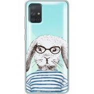 Силиконовый чехол BoxFace Samsung A715 Galaxy A71 MR. Rabbit (38851-cc71)