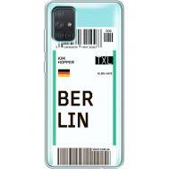 Силиконовый чехол BoxFace Samsung A715 Galaxy A71 Ticket Berrlin (38851-cc80)
