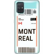 Силиконовый чехол BoxFace Samsung A715 Galaxy A71 Ticket Monreal (38851-cc87)