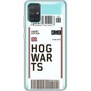Силиконовый чехол BoxFace Samsung A715 Galaxy A71 Ticket Hogwarts (38851-cc91)