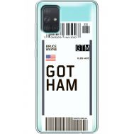 Силиконовый чехол BoxFace Samsung A715 Galaxy A71 Ticket Gotham (38851-cc92)