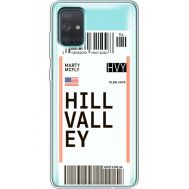 Силиконовый чехол BoxFace Samsung A715 Galaxy A71 Ticket Hill Valley (38851-cc94)