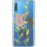 Силиконовый чехол BoxFace Samsung A750 Galaxy A7 2018 Cute Mermaid (35483-cc62)