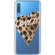 Силиконовый чехол BoxFace Samsung A750 Galaxy A7 2018 Wild Love (35483-cc64)