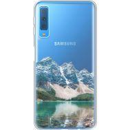 Силиконовый чехол BoxFace Samsung A750 Galaxy A7 2018 Blue Mountain (35483-cc68)