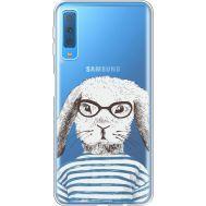 Силиконовый чехол BoxFace Samsung A750 Galaxy A7 2018 MR. Rabbit (35483-cc71)