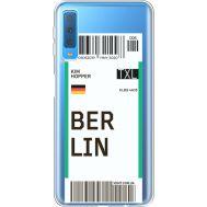 Силиконовый чехол BoxFace Samsung A750 Galaxy A7 2018 Ticket Berrlin (35483-cc80)