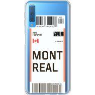 Силиконовый чехол BoxFace Samsung A750 Galaxy A7 2018 Ticket Monreal (35483-cc87)
