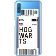 Силиконовый чехол BoxFace Samsung A750 Galaxy A7 2018 Ticket Hogwarts (35483-cc91)