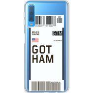 Силиконовый чехол BoxFace Samsung A750 Galaxy A7 2018 Ticket Gotham (35483-cc92)