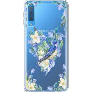 Силиконовый чехол BoxFace Samsung A750 Galaxy A7 2018 Spring Bird (35483-cc96)