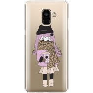 Силиконовый чехол BoxFace Samsung A730 Galaxy A8 Plus (2018) Winter Morning Girl (35992-cc61)
