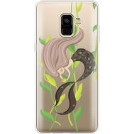 Силиконовый чехол BoxFace Samsung A730 Galaxy A8 Plus (2018) Cute Mermaid (35992-cc62)