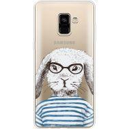 Силиконовый чехол BoxFace Samsung A730 Galaxy A8 Plus (2018) MR. Rabbit (35992-cc71)