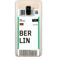 Силиконовый чехол BoxFace Samsung A730 Galaxy A8 Plus (2018) Ticket Berrlin (35992-cc80)