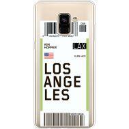 Силиконовый чехол BoxFace Samsung A730 Galaxy A8 Plus (2018) Ticket Los Angeles (35992-cc85)