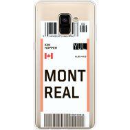 Силиконовый чехол BoxFace Samsung A730 Galaxy A8 Plus (2018) Ticket Monreal (35992-cc87)