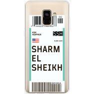 Силиконовый чехол BoxFace Samsung A730 Galaxy A8 Plus (2018) Ticket Sharmel Sheikh (35992-cc90)