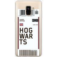 Силиконовый чехол BoxFace Samsung A730 Galaxy A8 Plus (2018) Ticket Hogwarts (35992-cc91)