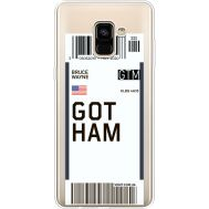 Силиконовый чехол BoxFace Samsung A730 Galaxy A8 Plus (2018) Ticket Gotham (35992-cc92)