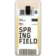 Силиконовый чехол BoxFace Samsung A730 Galaxy A8 Plus (2018) Ticket Springfield (35992-cc93)