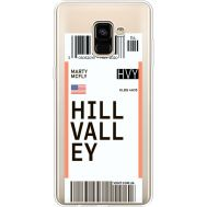 Силиконовый чехол BoxFace Samsung A730 Galaxy A8 Plus (2018) Ticket Hill Valley (35992-cc94)