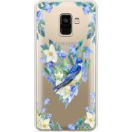 Силиконовый чехол BoxFace Samsung A730 Galaxy A8 Plus (2018) Spring Bird (35992-cc96)