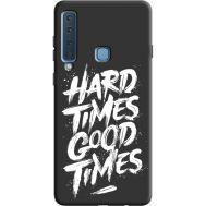 Силиконовый чехол BoxFace Samsung A920 Galaxy A9 2018 hard times good times (36139-bk72)
