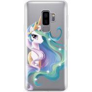 Силиконовый чехол BoxFace Samsung G965 Galaxy S9 Plus Unicorn Queen (935749-rs3)