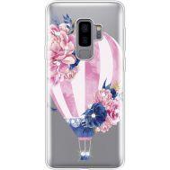 Силиконовый чехол BoxFace Samsung G965 Galaxy S9 Plus Pink Air Baloon (935749-rs6)