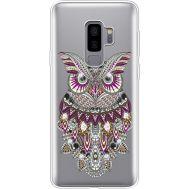 Силиконовый чехол BoxFace Samsung G965 Galaxy S9 Plus Owl (935749-rs9)