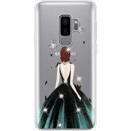 Силиконовый чехол BoxFace Samsung G965 Galaxy S9 Plus Girl in the green dress (935749-rs13)