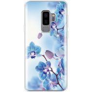 Силиконовый чехол BoxFace Samsung G965 Galaxy S9 Plus Orchids (935749-rs16)