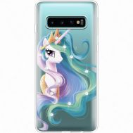 Силиконовый чехол BoxFace Samsung G973 Galaxy S10 Unicorn Queen (935879-rs3)