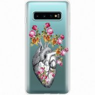 Силиконовый чехол BoxFace Samsung G973 Galaxy S10 Heart (935879-rs11)